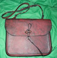 Swainson, Bag, shoulder, moulded, leather, ANZLA, NZ, New Zealand
